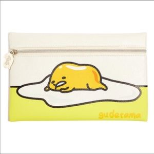 Ipsy x Sanrio Gudetama Cosmetic Makeup Bag